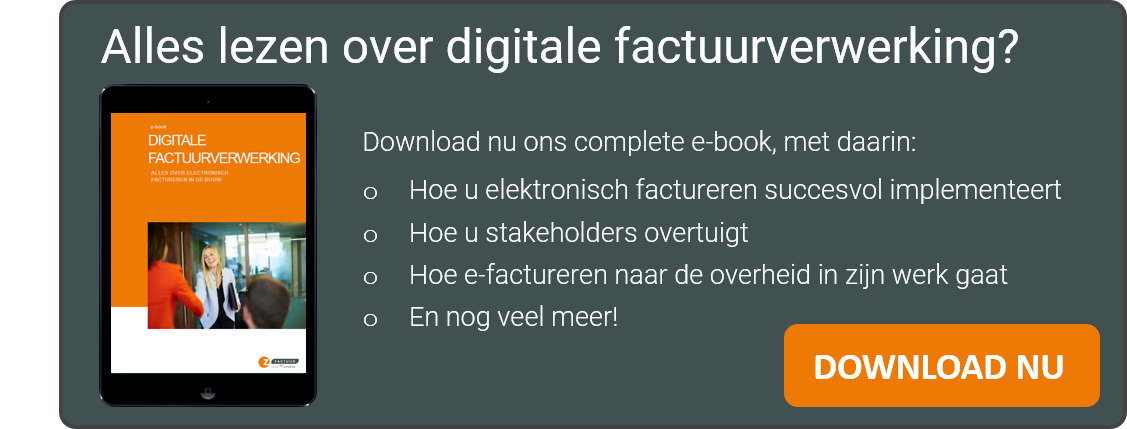 e-book Digitale factuurverwerking